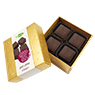 Petit plaisir red wine - chocolate selection red wine
